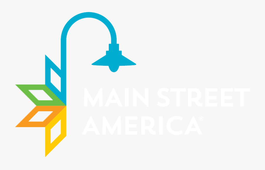 Com/wp Street America White - Main Street America 2018, Transparent Clipart