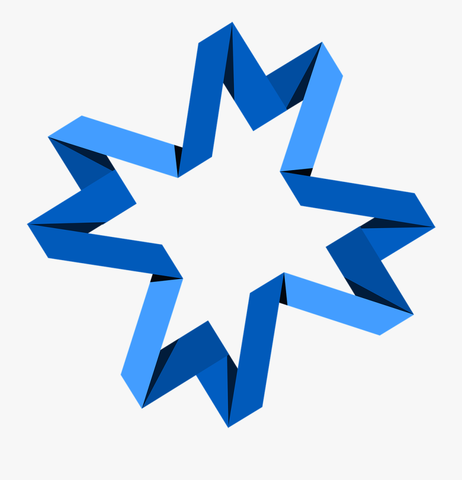 Banner Blue Symbol Free Photo, Transparent Clipart