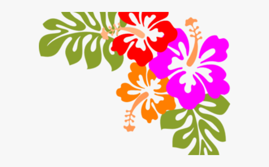 Polynesia Clipart Hawaii Flower - Tropical Flowers Clipart Png, Transparent Clipart