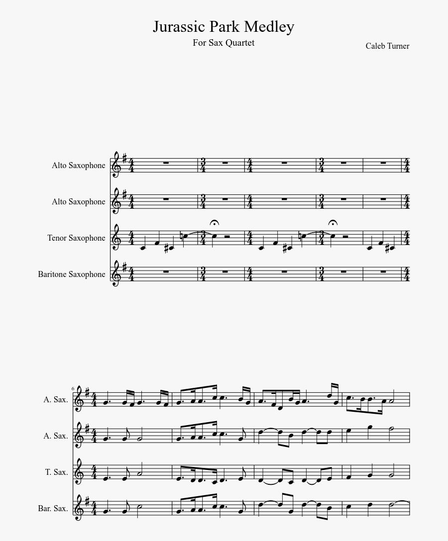 Sheet Music Made By - Sail Alto Sax Sheet Music, Transparent Clipart