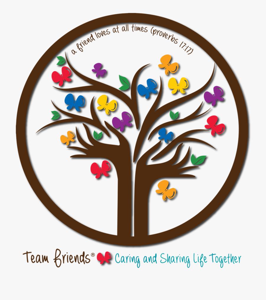 Team For Friends, Transparent Clipart