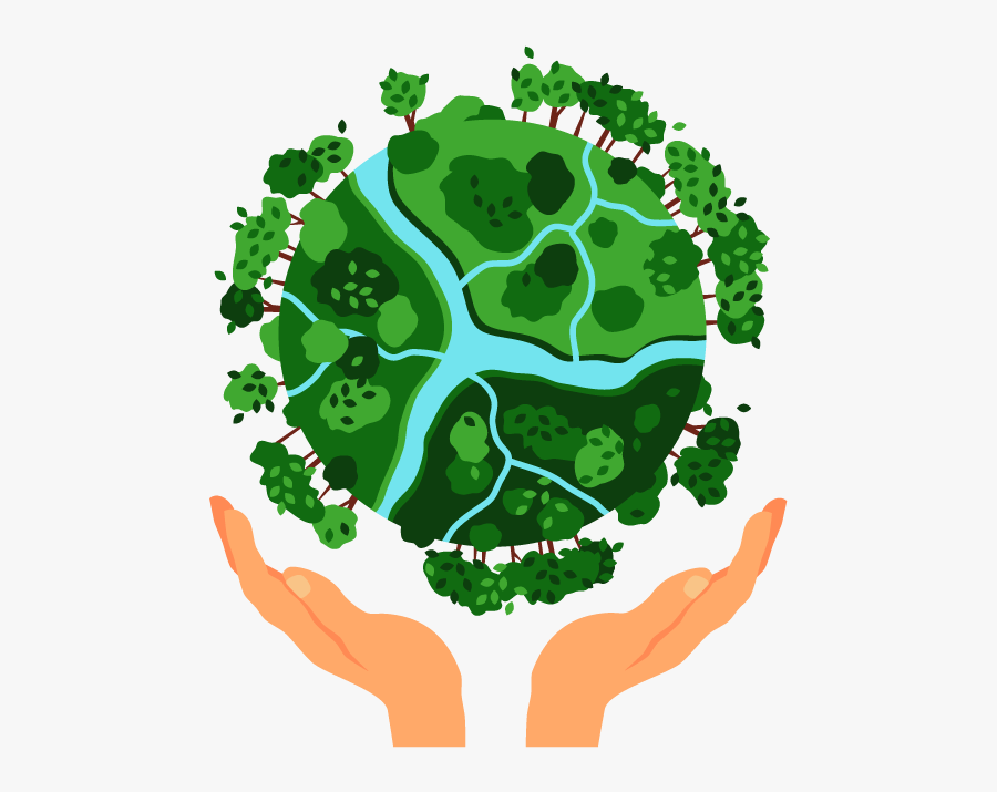 Eco Friendly Earth - National Energy Conservation Day Poster, Transparent Clipart