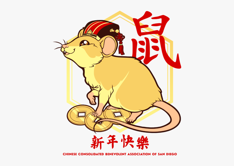 Chinese Year Of The Rat Art, Transparent Clipart