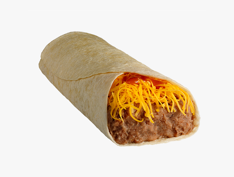 Taco Time Soft Bean Burrito, Transparent Clipart