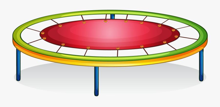 Trampolining Clip Art Cartoon - Trampoline Clip Art, Transparent Clipart
