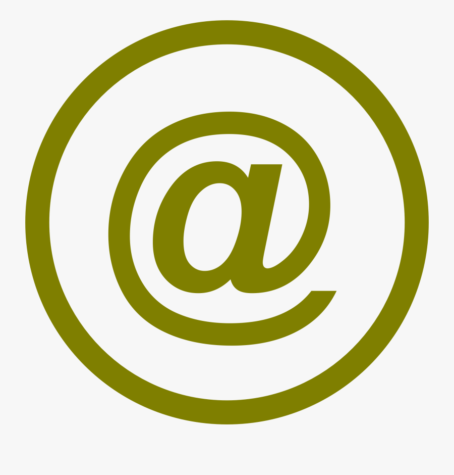 Modern Email Icon, Transparent Clipart