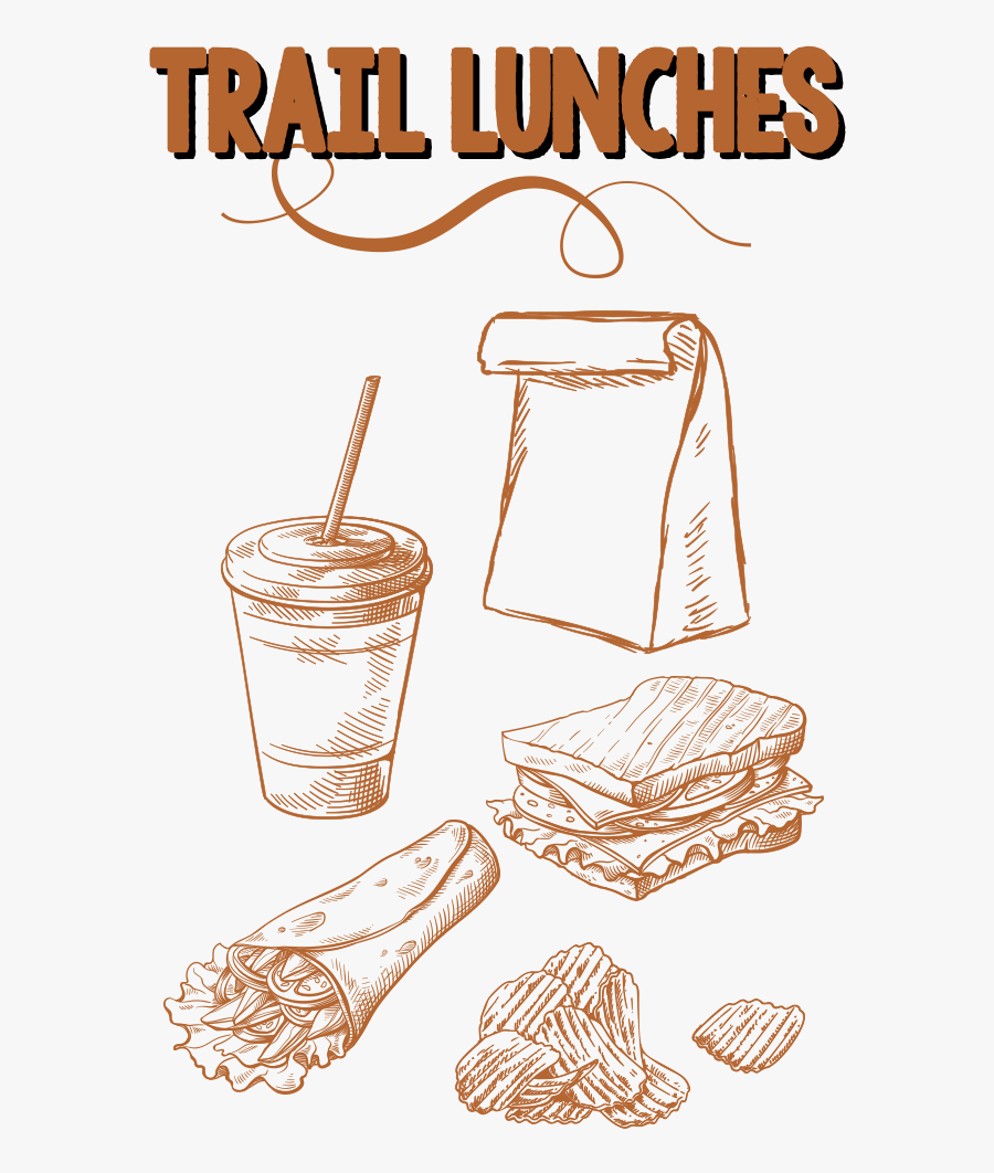 Trail Lunches, Transparent Clipart