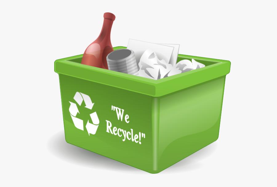 Recycling Bin Png, Transparent Clipart