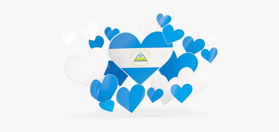 Flying Heart Stickers - Corazon De El Salvador, Transparent Clipart