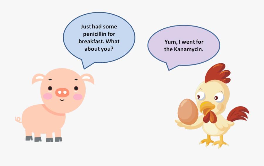 Antibiotic Cartoon - Antibiotic Resistance Livestock Cartoon, Transparent Clipart