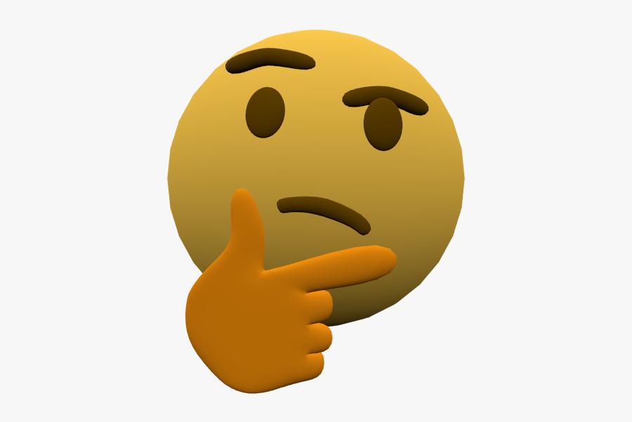 Transparent Thinking Emoji Gif, Transparent Clipart