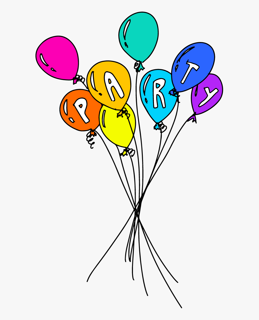 Balloon, Transparent Clipart