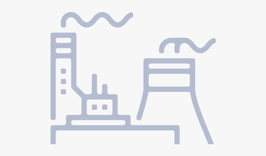 Power Plant Svg, Transparent Clipart