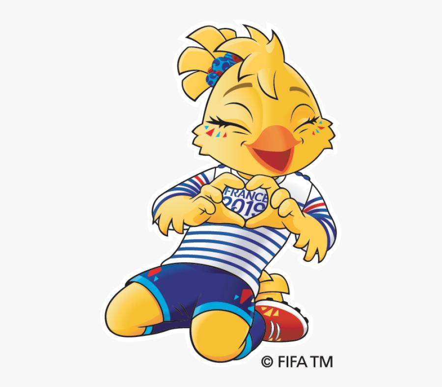 Women's World Cup 2019 Mascot, Transparent Clipart