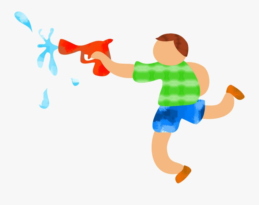 Water Gun Clipart, Transparent Clipart