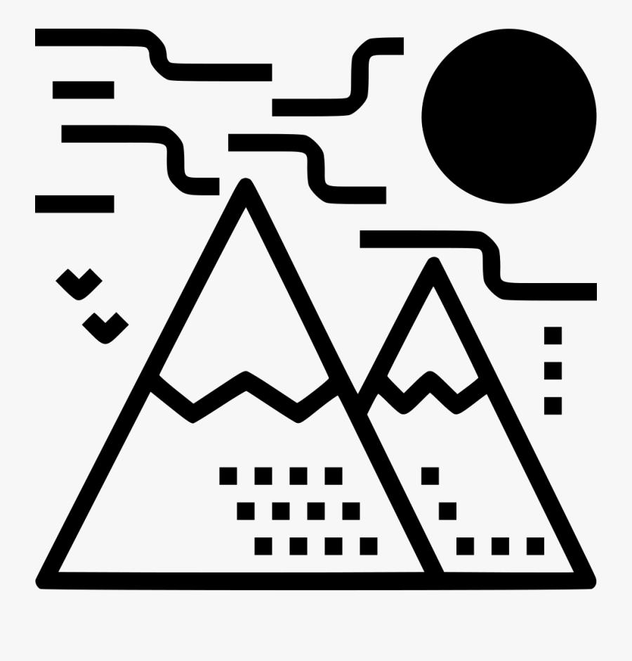 Mountain Hiking Trekking Climbing - Hiking, Transparent Clipart