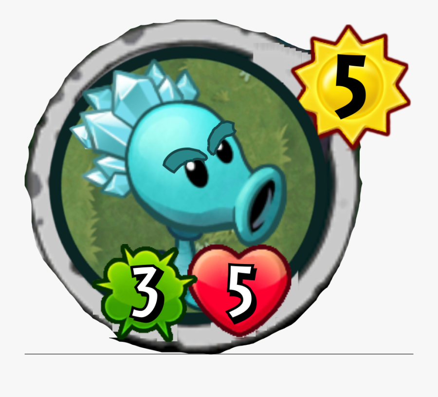 Zombie Face Png - Plants Vs Zombies Heroes Electric Blueberry, Transparent Clipart