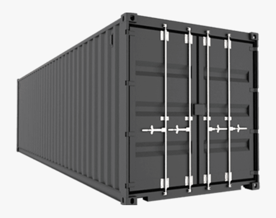 45 Feet High Cube Shipping Container Dimensions, Transparent Clipart