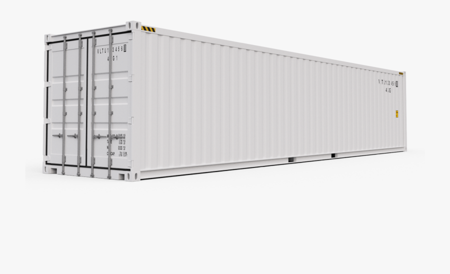 40 Feet Container Png, Transparent Clipart