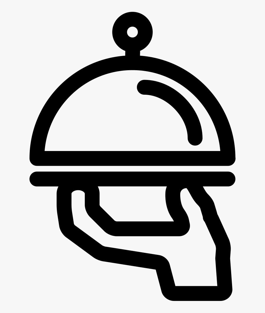 Food Service To Bedroom - Food Service Icon Png, Transparent Clipart