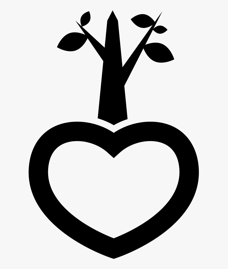Green Heart - Icon, Transparent Clipart