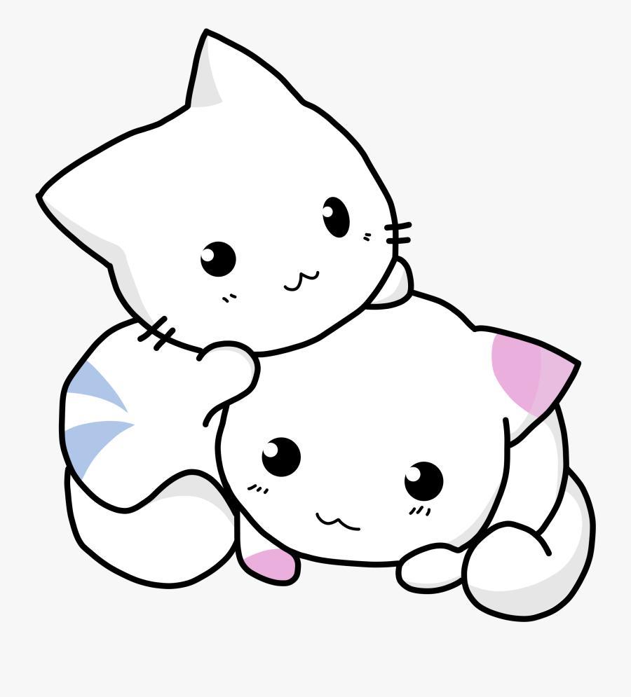 Clipart - Cute Kitten Art, Transparent Clipart