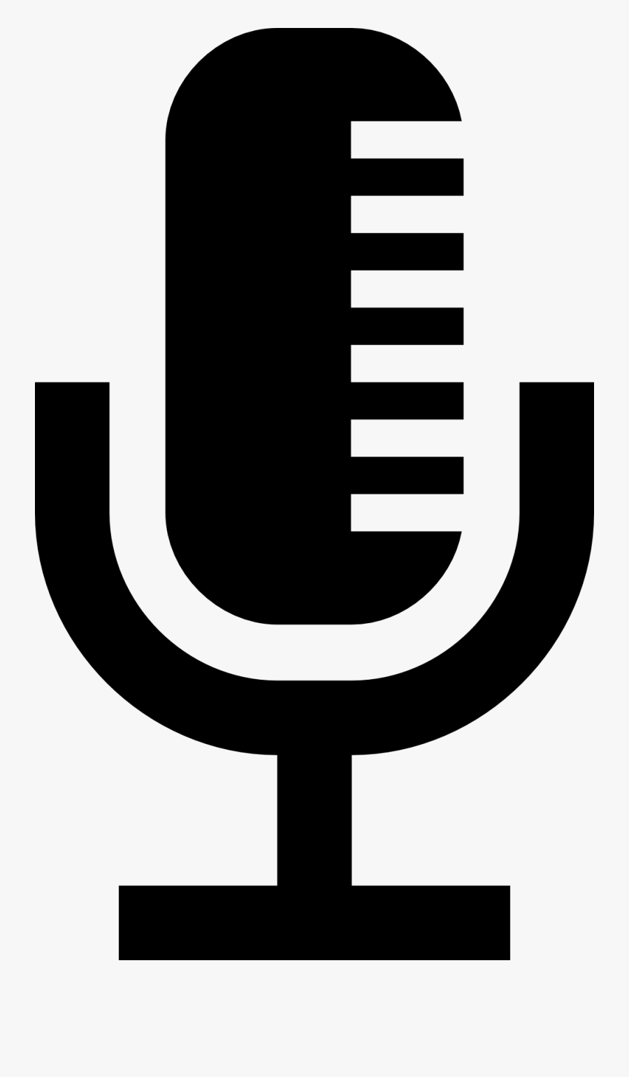 This Is The Icon - Radio Microphone Clip Art, Transparent Clipart