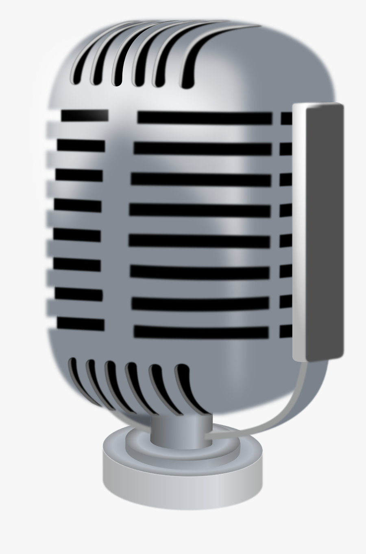 Microphone Clip Art, Transparent Clipart