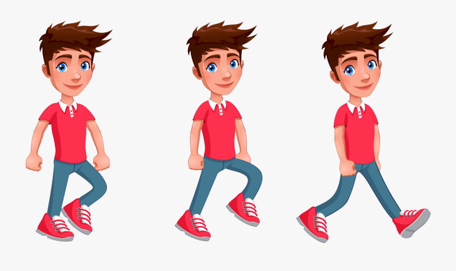 2d Animation Character Png, Transparent Clipart