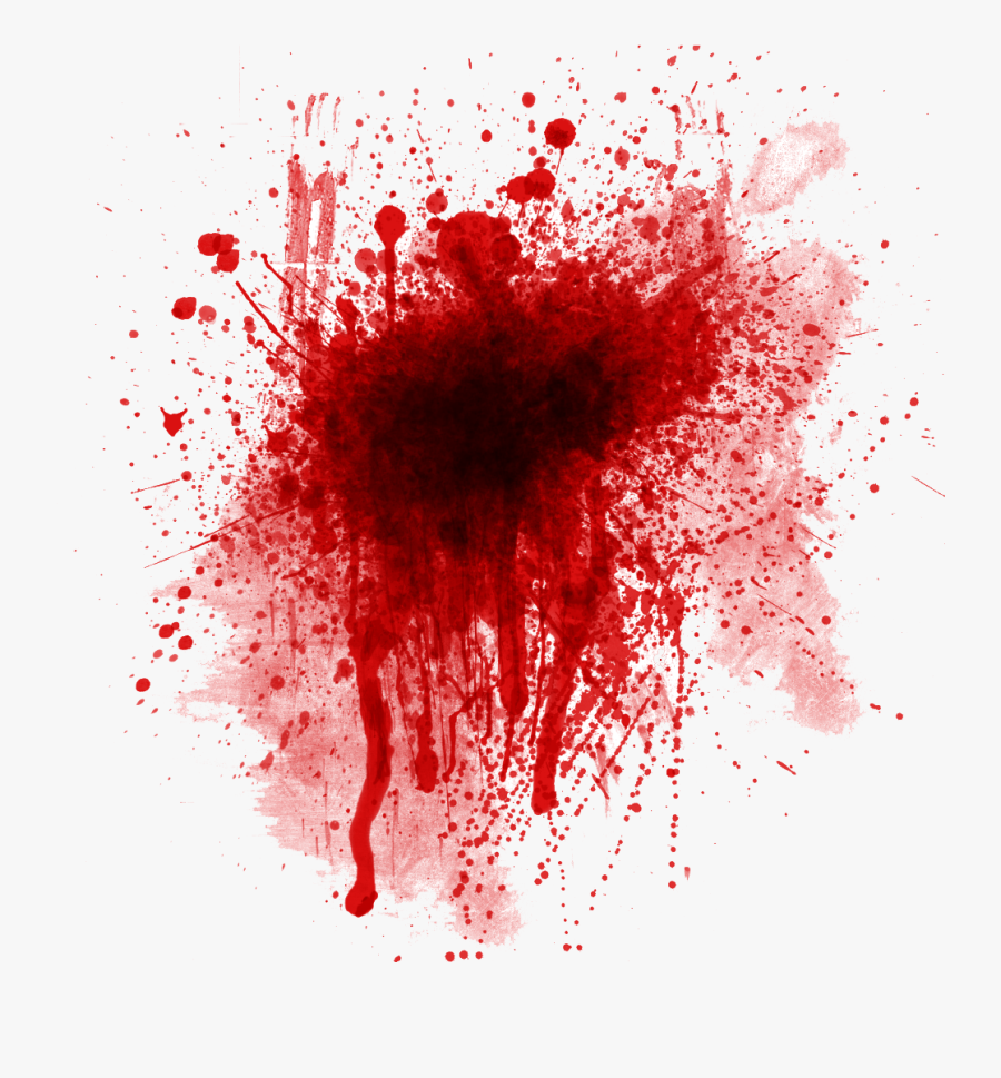 Blood Stain Png Transparent Clipart Free Stock - Blood Splatter, Transparent Clipart