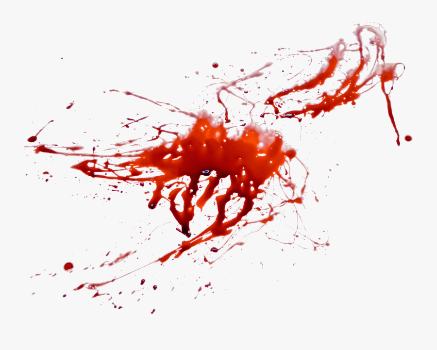 Blood Splatter Background Png - Blood Transparent Background, Transparent Clipart