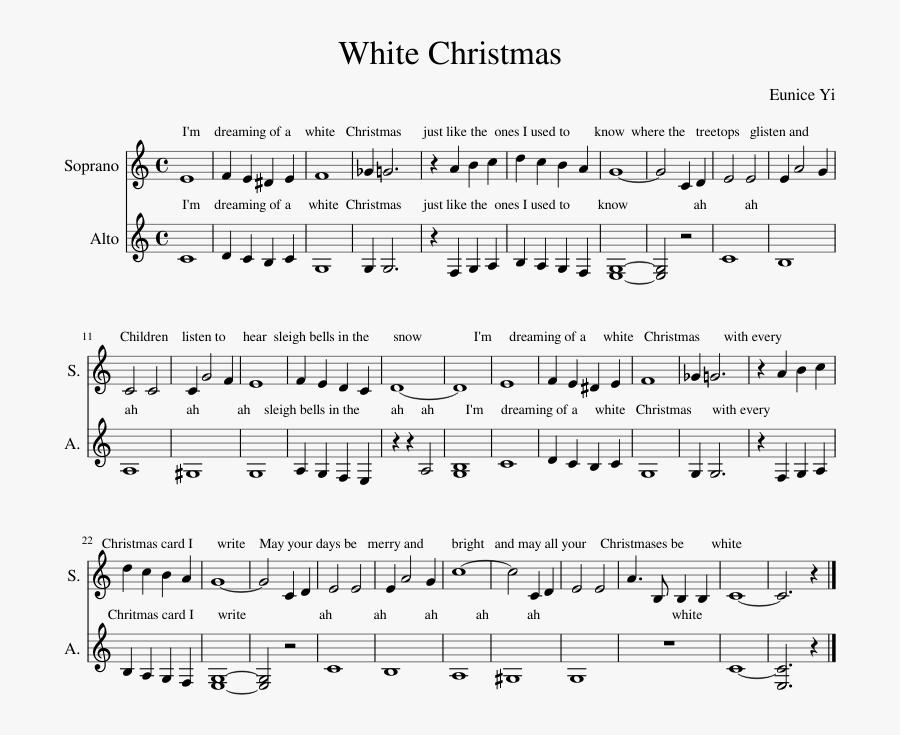 Transparent Christmas Sheet Music Clipart - Pie Jesu Faure Notes, Transparent Clipart