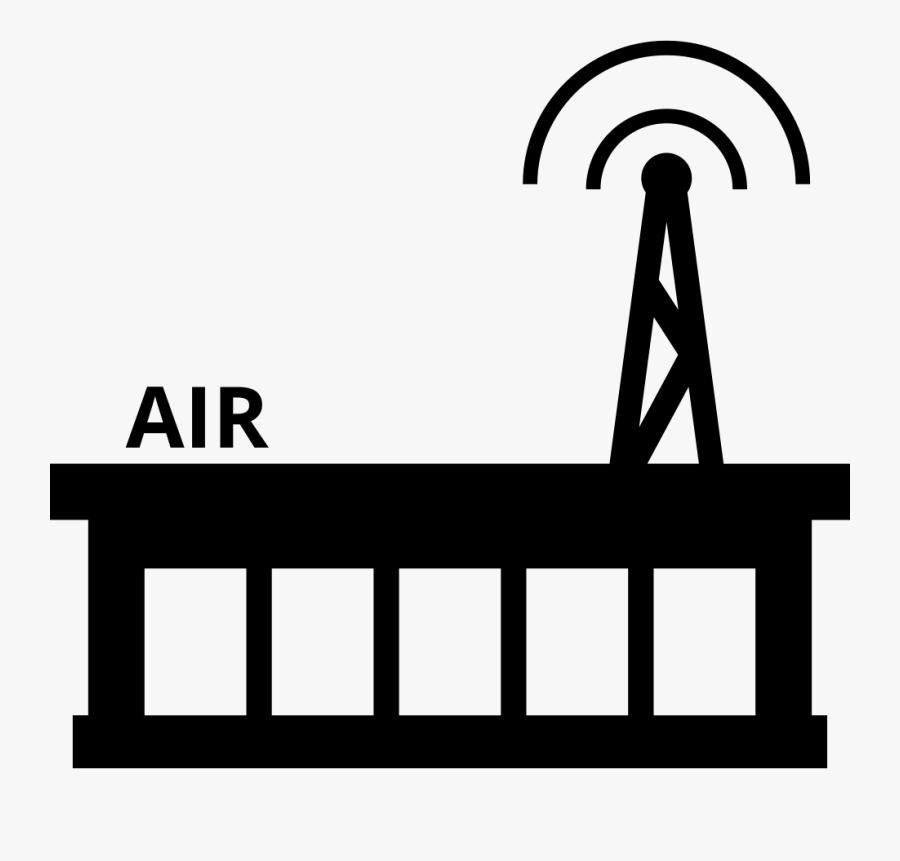 Radio Station Comments - Radio Station Icon, Transparent Clipart