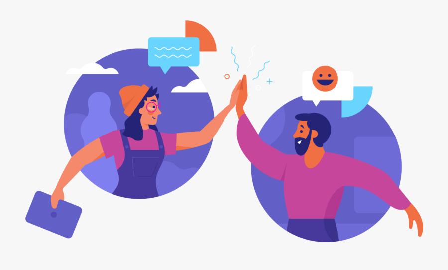 Collaboration, Transparent Clipart