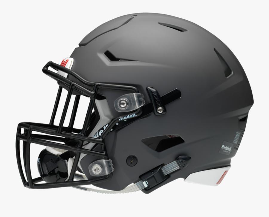 American Football Helmets Riddell Face Mask - Oregon State Beavers Football Helmet, Transparent Clipart