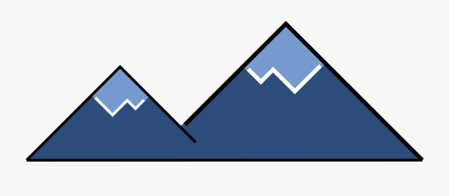 Icono Montaña Png, Transparent Clipart