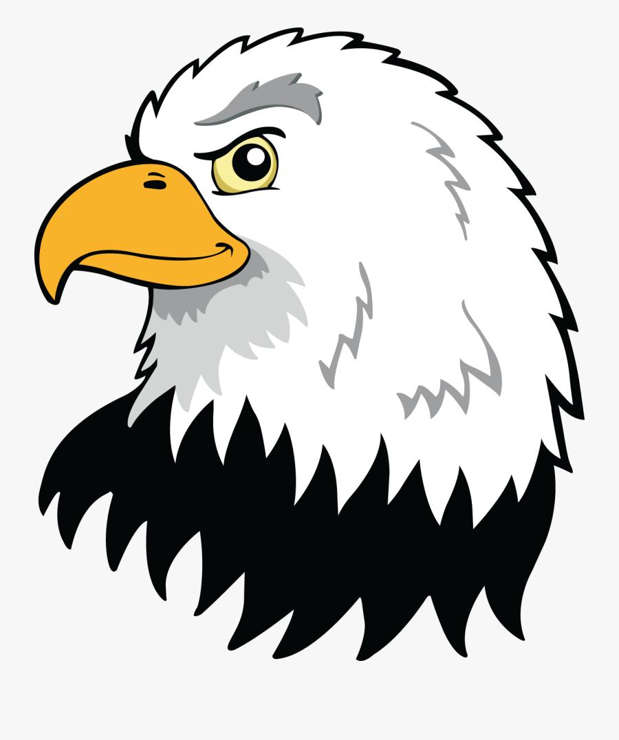 Bald Eagle American Flag Cartoon, Transparent Clipart