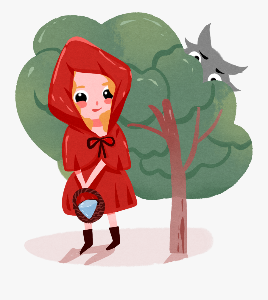 Fairy Tale Character Cartoon Girl Png And Psd - Fairy Tale, Transparent Clipart