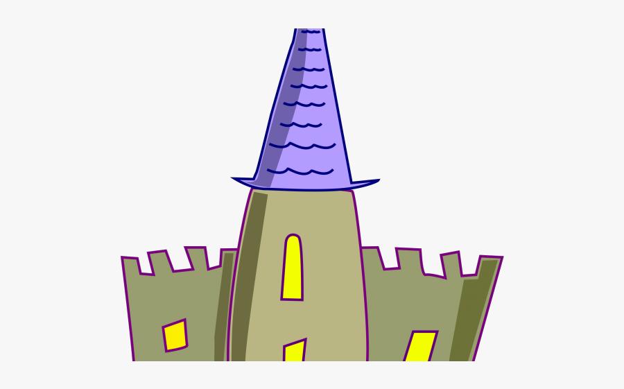 Vector Fairy Tale Castle, Transparent Clipart