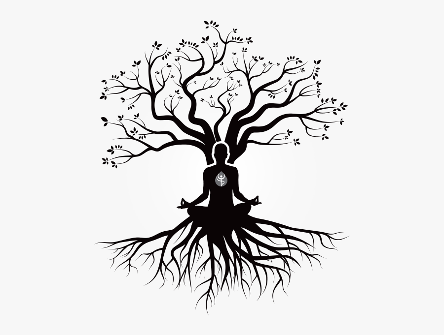 Banner Design For Family Reunion - Family Reunion Tree With Roots, Transparent Clipart
