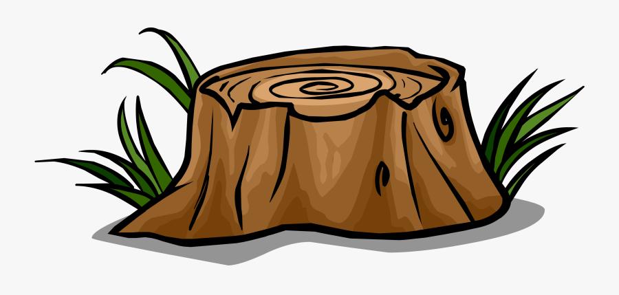 Tree Stump Sprite - Tree Stump Clip Art Png, Transparent Clipart