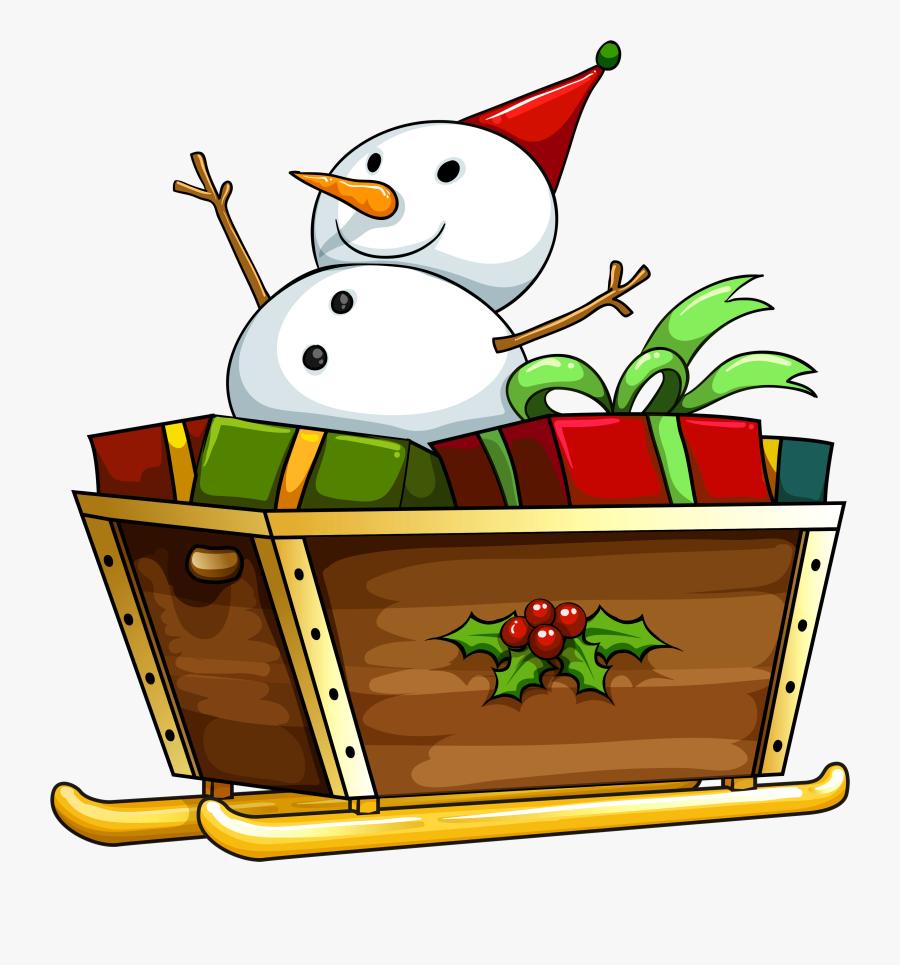 Transparent Christmas Deco Snowman Png Clipart - Different Kinds Of Christmas Symbols, Transparent Clipart
