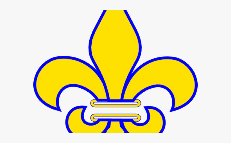 Whit Clipart Fleur De Lis - National French Honor Society Logo, Transparent Clipart