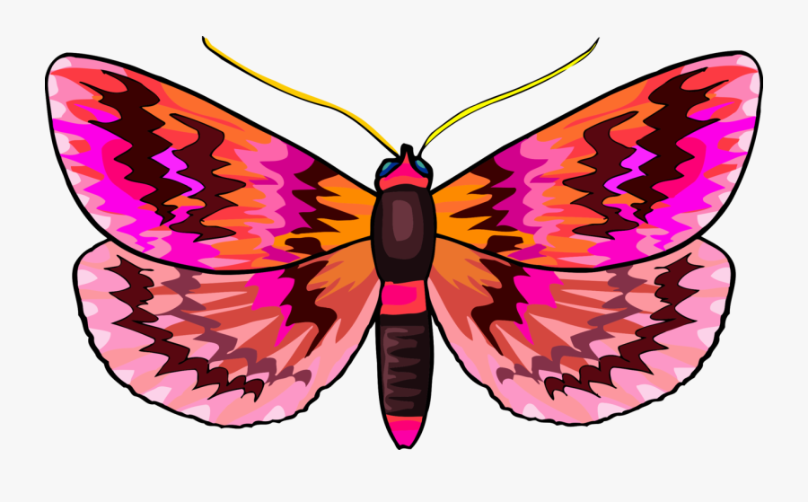 Monarch Butterfly Brush-footed Butterflies Insect Arthropod - Butterfly, Transparent Clipart