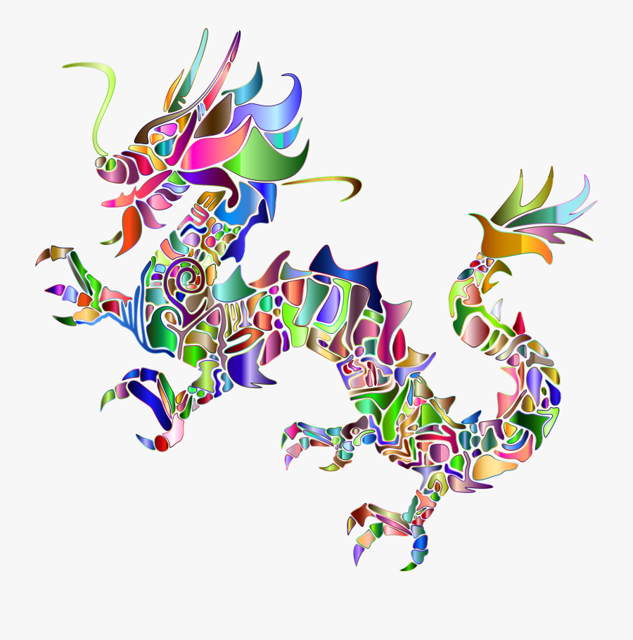 Art,dragon,graphic Design - Chinese Dragon Boat Silhouette, Transparent Clipart
