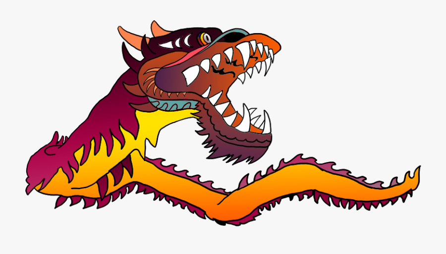 Great Pictures Of Cool Dragons Jpg Freeuse - Chinese Dragon Gif Png, Transparent Clipart