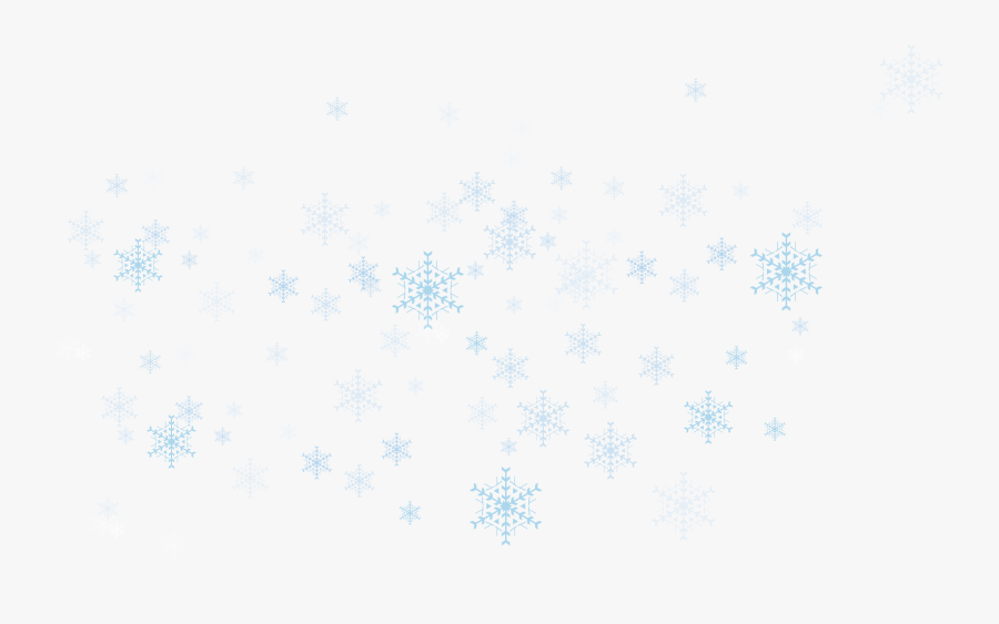 Clip Art Snow Banner - Transparent Snowflake Vector Png, Transparent Clipart