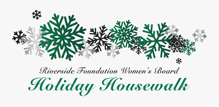 Transparent House Foundation Clipart - Free Red Snowflake Border, Transparent Clipart
