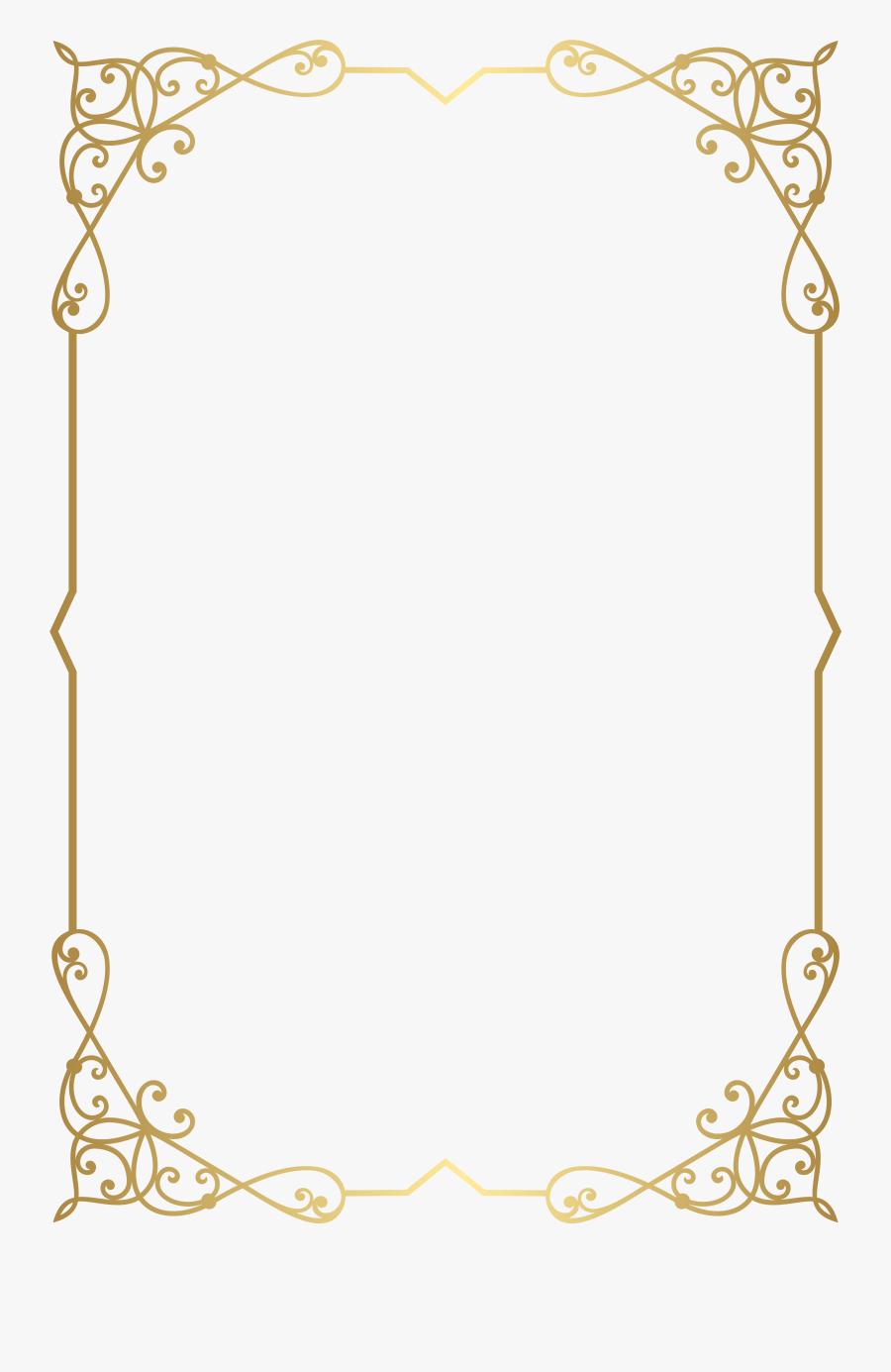 Cliparts Border High Resolution - Transparent Background Border Png, Transparent Clipart