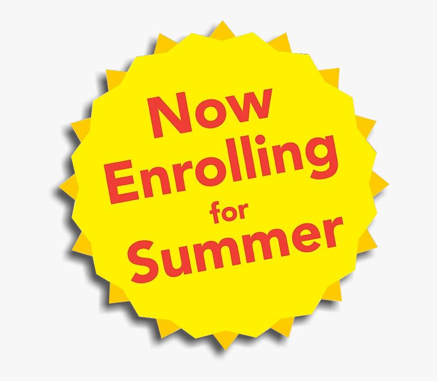 Camp Clipart Math - Summer Camp Now Enrolling, Transparent Clipart